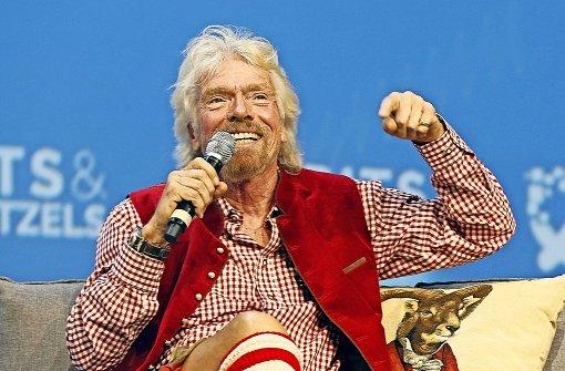 Wo Richard Branson Krachlederne trägt