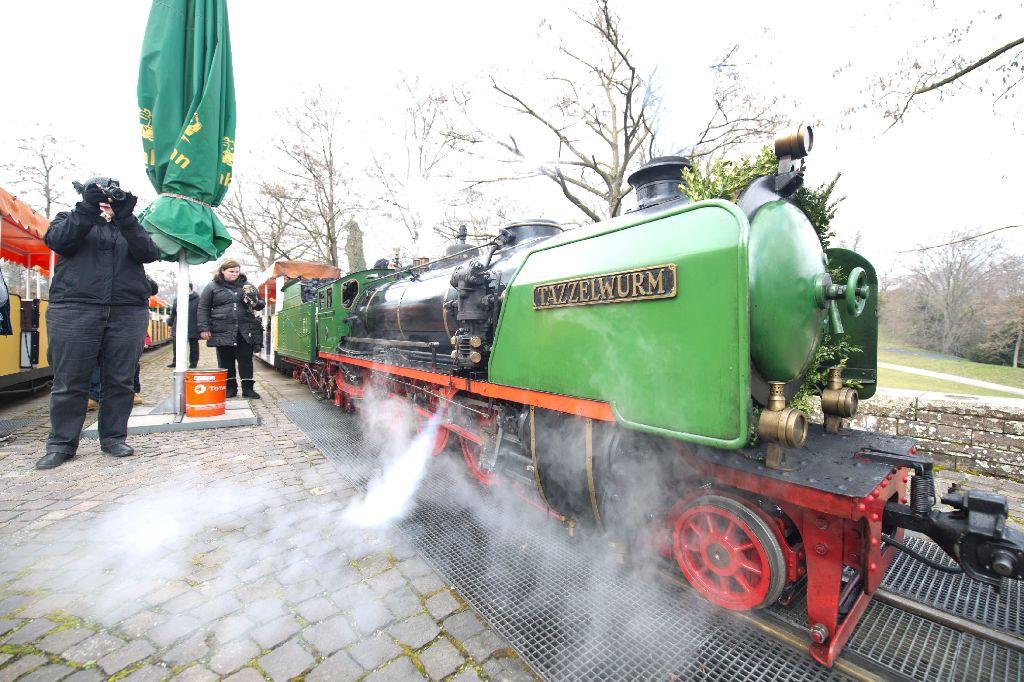 Stuttgart-Nord: Die Killesbergbahn fährt wieder - die Saison 2013 hat begonnen