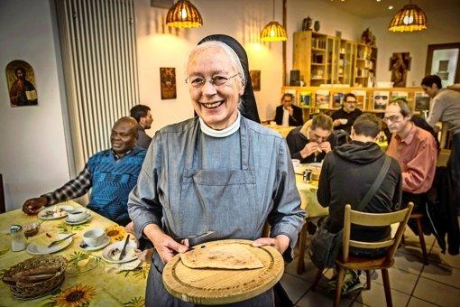 Schwester Margret lobt guten Effekt des Gerbers