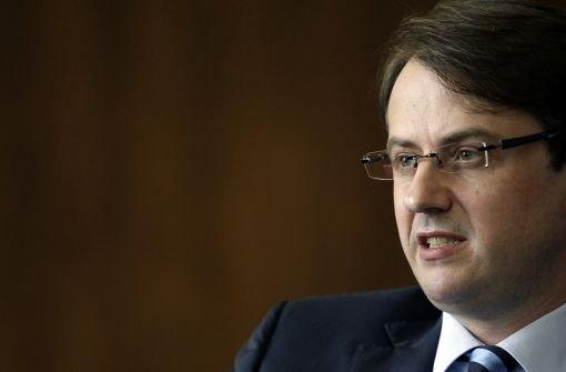 Finanzbürgermeister Michael Föll Foto: Piechowski