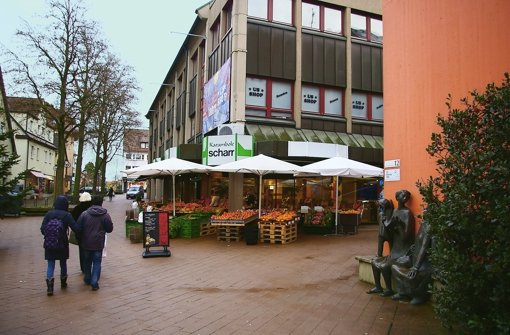 Der Karambole-Scharr-Markt am Vaihinger Markt macht dicht. Foto: Alexandra Kratz