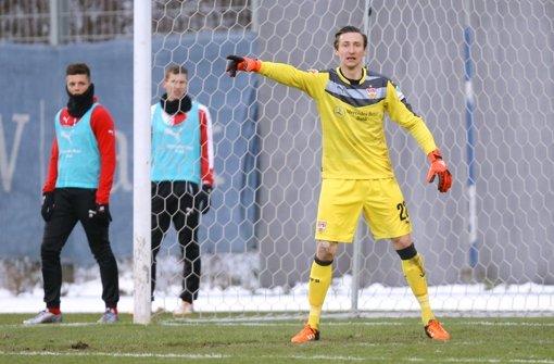 Przemyslaw Tyton steht beim VfB Stuttgart im Tor. Foto: Pressefoto Baumann