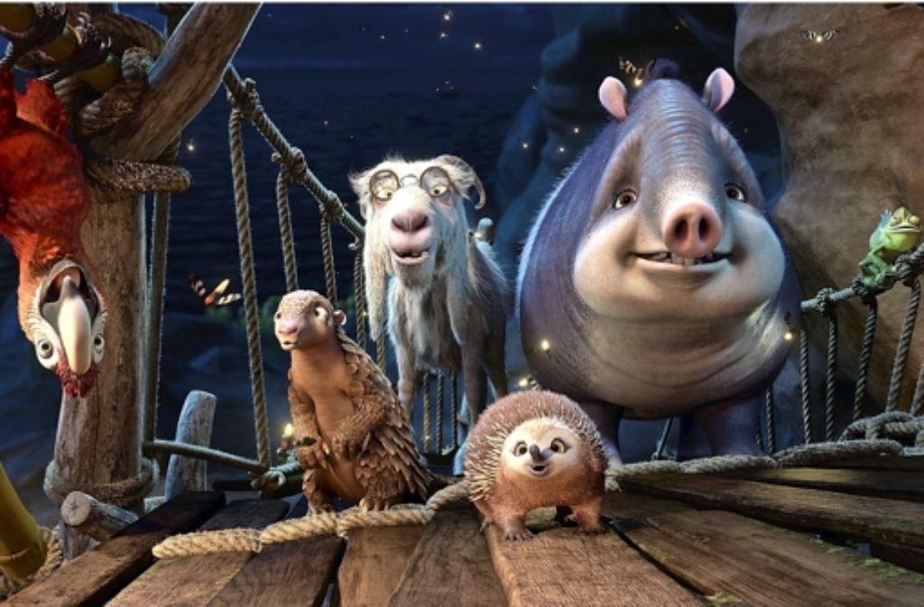 Animationsfilm Tiere
