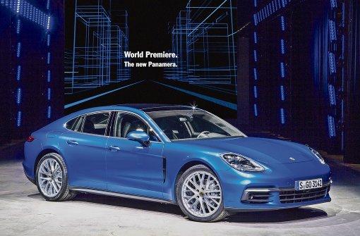 Porsche enthüllt den neuen Panamera