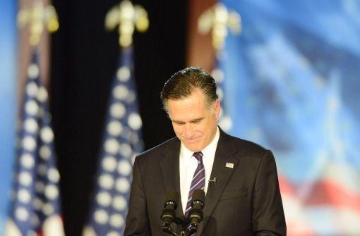 Romney gesteht Niederlage ein