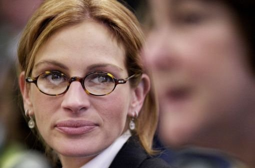 Pretty Woman trägt Brille: Julia Roberts.  Foto: dpa