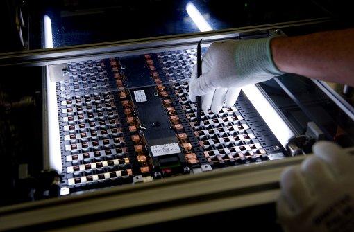 Daimler verdoppelt Mitarbeiterzahl in Batteriefabrik