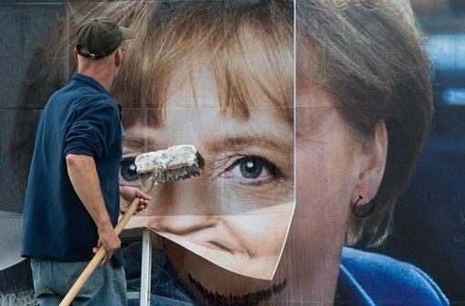 Einen neuen Anstrich möchten viele Konservative der Merkel-CDU verpassen. Doch die Vorsitzende sperrt sich. Foto: dpa