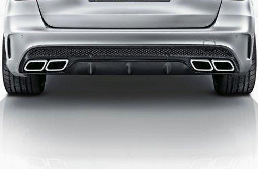 Entscheidend ist, was hinten rauskommt: Im realen Fahrbetrieb sind  das bei vielen Automodellen sehr viel höhere Schadstoffkonzentrationen als auf dem Prüfstand zulässig Foto: Daimler AG