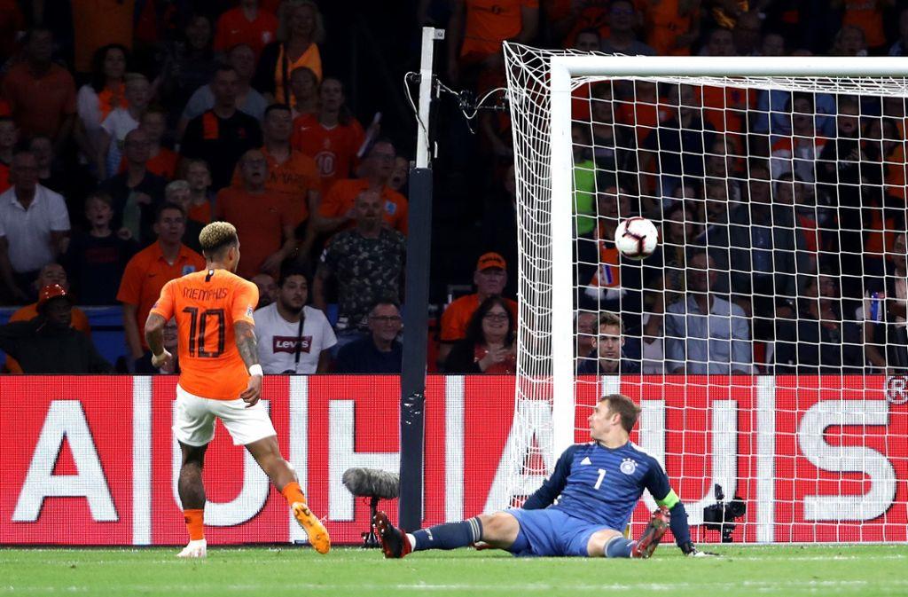 Niederlande Gegen Deutsche Nationalmannschaft Deutschland