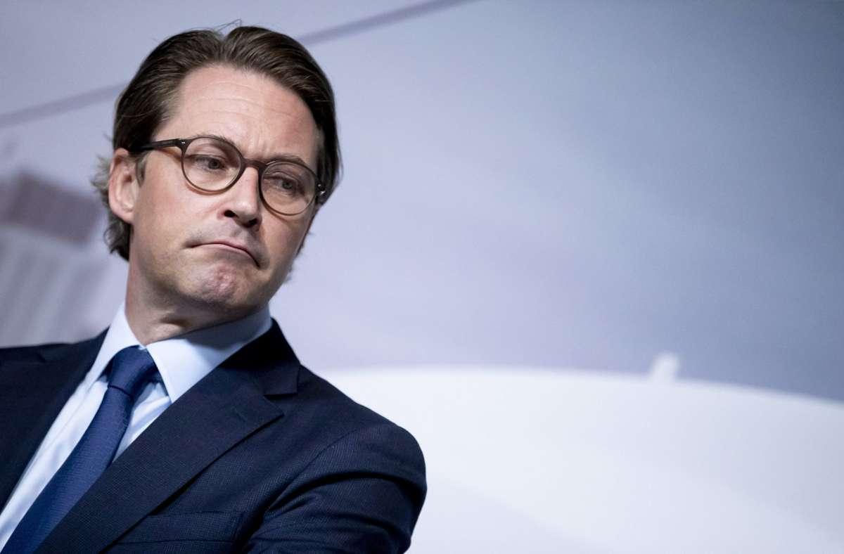 Maut-Untersuchungsausschuss - Schwere Vorwürfe gegen Verkehrsminister Andreas Scheuer
