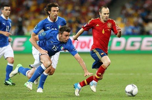 Liveticker zu Spanien gegen Italien