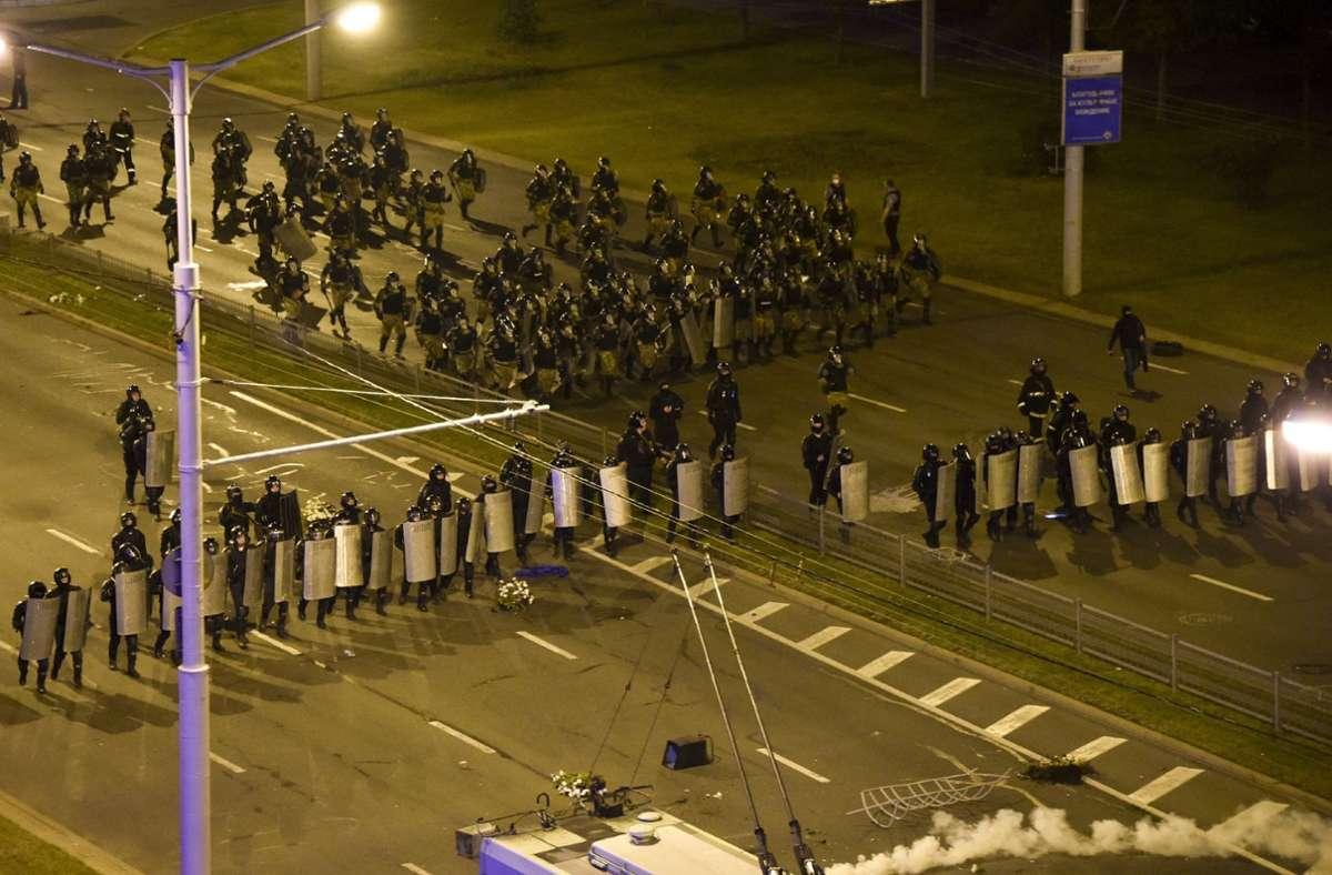 Freigelassene in Belarus berichten von Misshandlungen