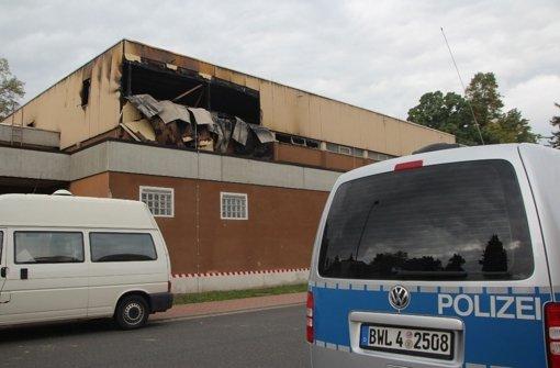 In einer geplanten Asylunterkunft in Wertheim war es am 20. September zu einem Brandanschlag gekommen. Foto: Rene Engmann