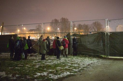 Mehrere mutmaßliche Stuttgart-21-Gegner sind am Donnerstagabend auf das Baustellengelände am Bahnhof eingedrungen. Foto: 7aktuell.de/Gerlach