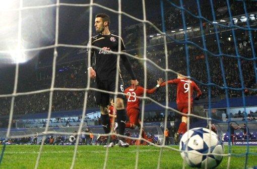 Ivo Pinto in einem Spiel mit Dinamo Zagreb gegen den FC Bayern München. Foto: Getty Images