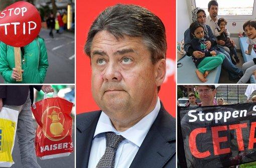 CDU und CSU attackieren Gabriel scharf