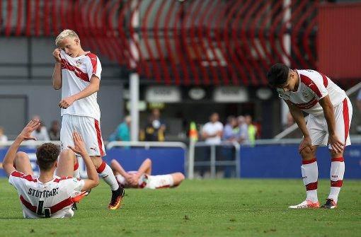 Der VfB-Nachwuchs kommt nicht mehr mit