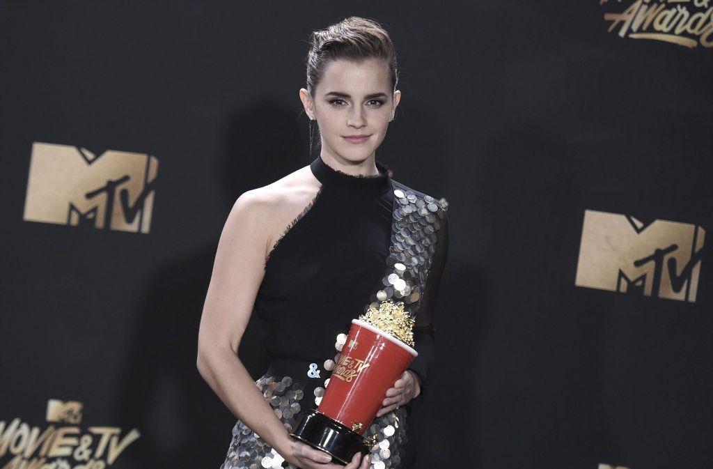 Mtv Movie Awards Emma Watson Ist Beste Schauspielerin Panorama