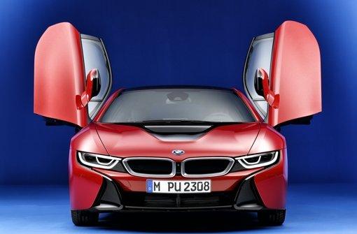 BMW gehört mit dem i8 zu den deutschen Pionieren der E-Mobilität. Foto: BMW