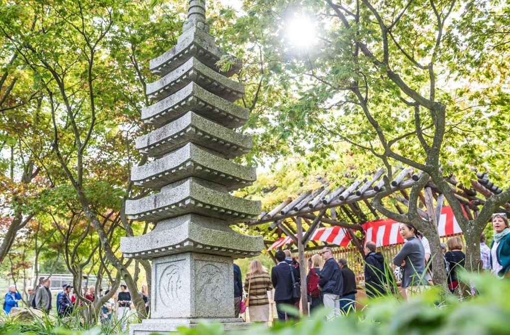 Der Japangarten War Ein Geschenk Der Präfektur Kanagawa An