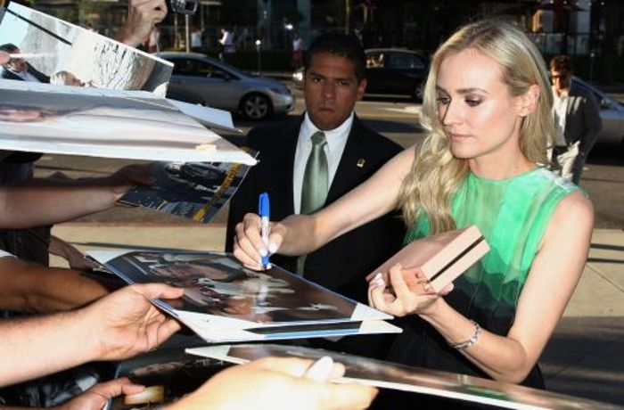 Diane Kruger ermittelt: Krimiserie The Bridge feiert Premiere in Los Angeles