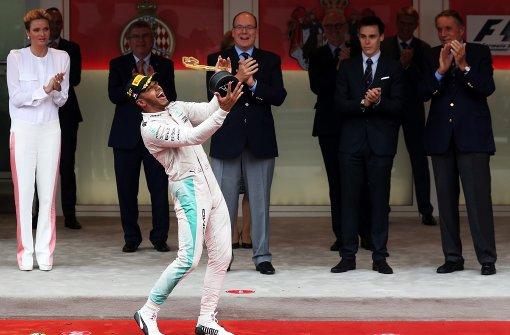 Hamilton triumphiert in Monaco