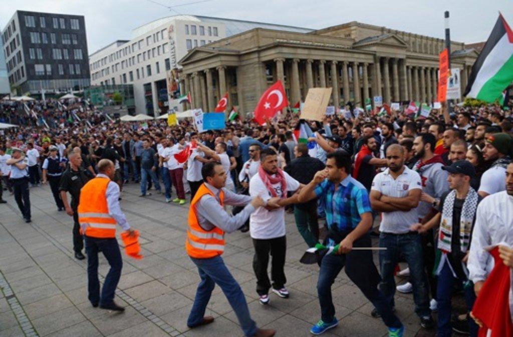 Stuttgart Demonstration