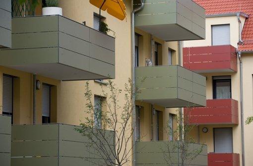 In Stuttgart fehlt es an bezahlbarem Wohnraum Foto: dpa