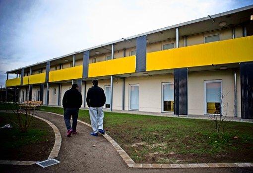 Diskussion über  Flüchtlingsheim