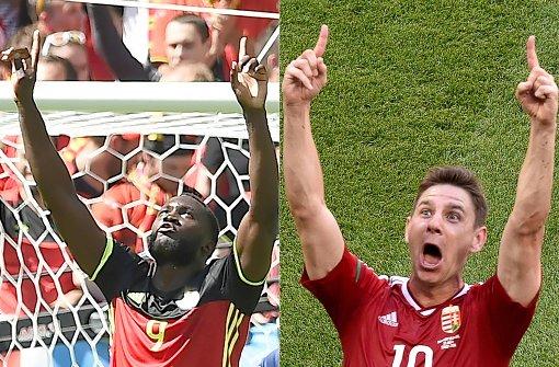 Ungarn gegen Belgien im Liveticker