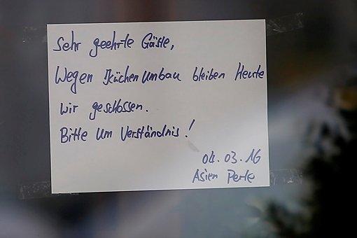 Im Asia-Restaurant Asien Perle in Backnang ist am Freitag eine Tote gefunden worden.  Foto: www.7aktuell.de | Karsten Schmalz