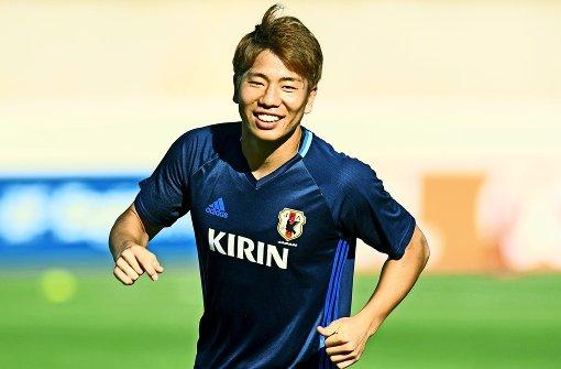Asano soll den VfB-Sturm beleben
