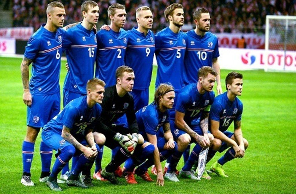 Island Frankreich FuГџball
