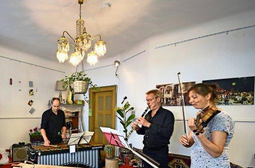 Musiker bringen das Viertel zum Klingen