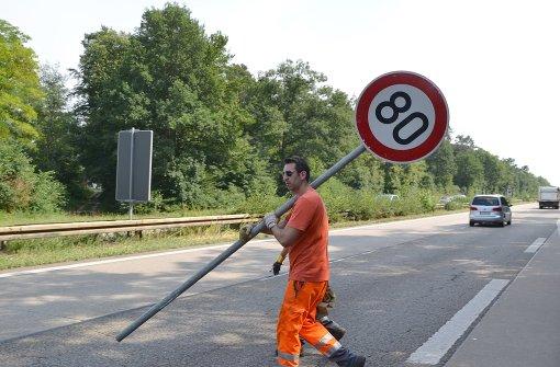 Tempolimits auf Autobahnen
