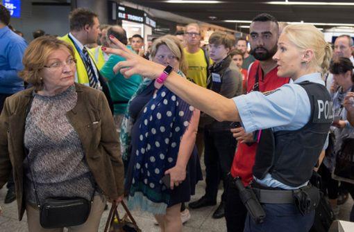 Frankfurt Flughafen Polizei Nachrichten