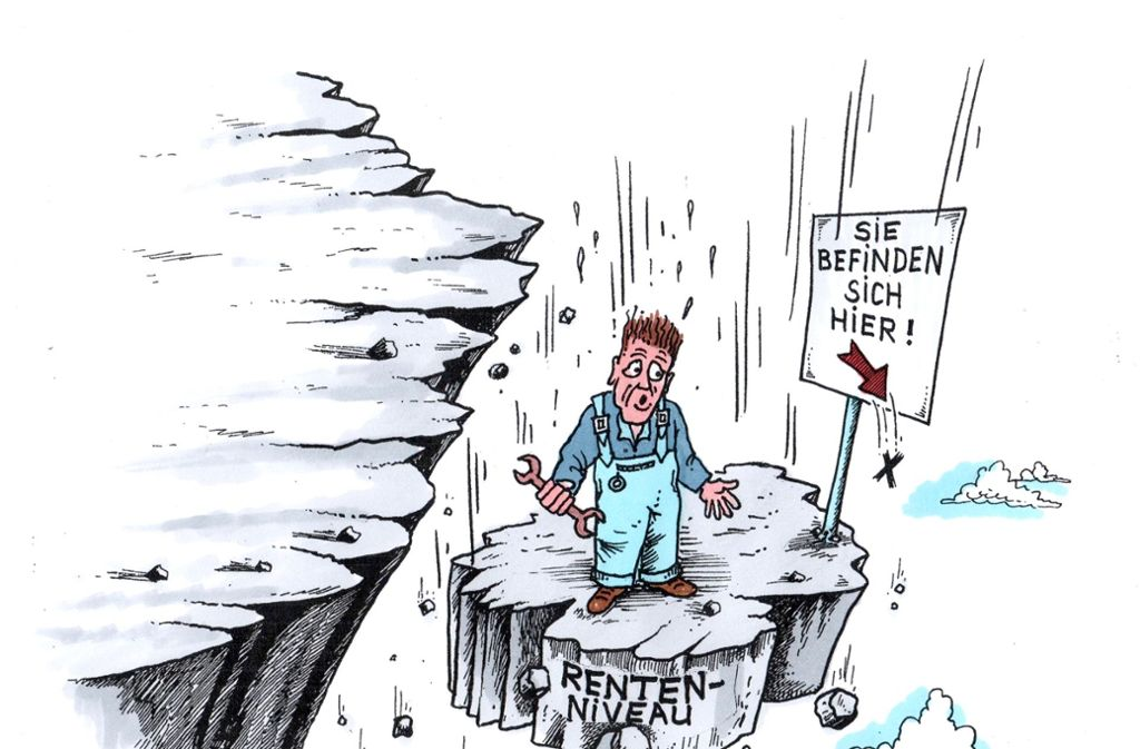 Die Rente Ist Sicher