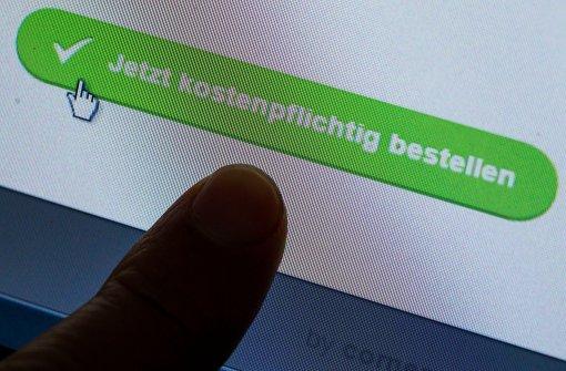 Verbraucherschützer warnen vor gefälschten Online-Shops