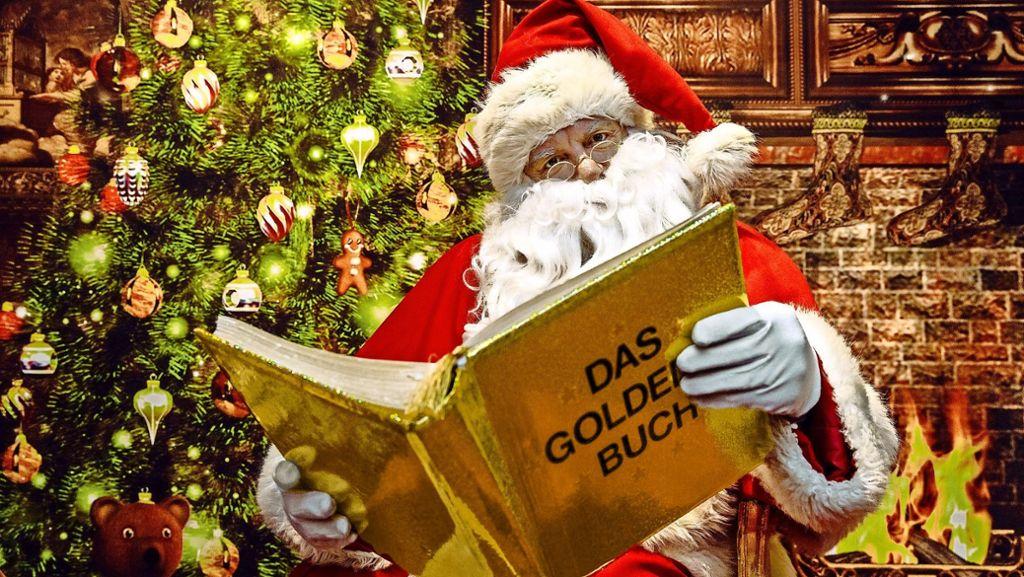Kinder Und Die Weihnachtszeit Warum Der Glaube An Den Weihnachtsmann Sinnvoll Ist Stuttgart Stuttgarter Nachrichten