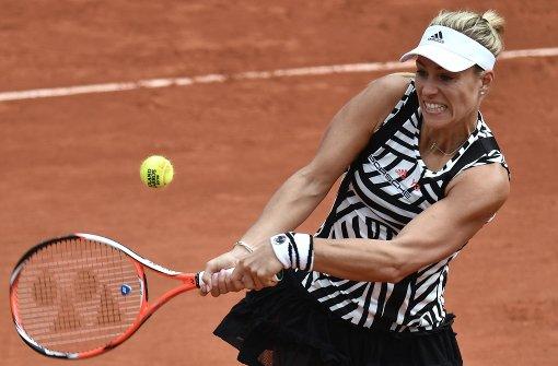 Aus für Kerber in der ersten Runde der French Open