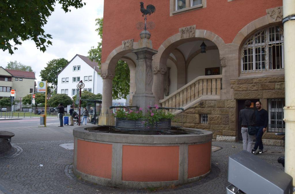 Werderplatz in Karlsruhe: Trinker sind wieder am Brunnen