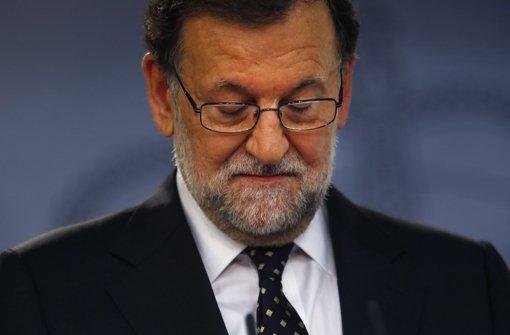 Der bisherige spanische Ministerpräsident Mariano Rajoy hat keine Koalition zustande gebracht. Foto: AP