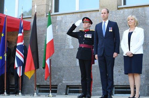 Prinz William verleiht dem Geburtstag königlichen Glanz