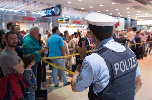 Unkontrolliert im Sicherheitsbereich – Mann festgenommen