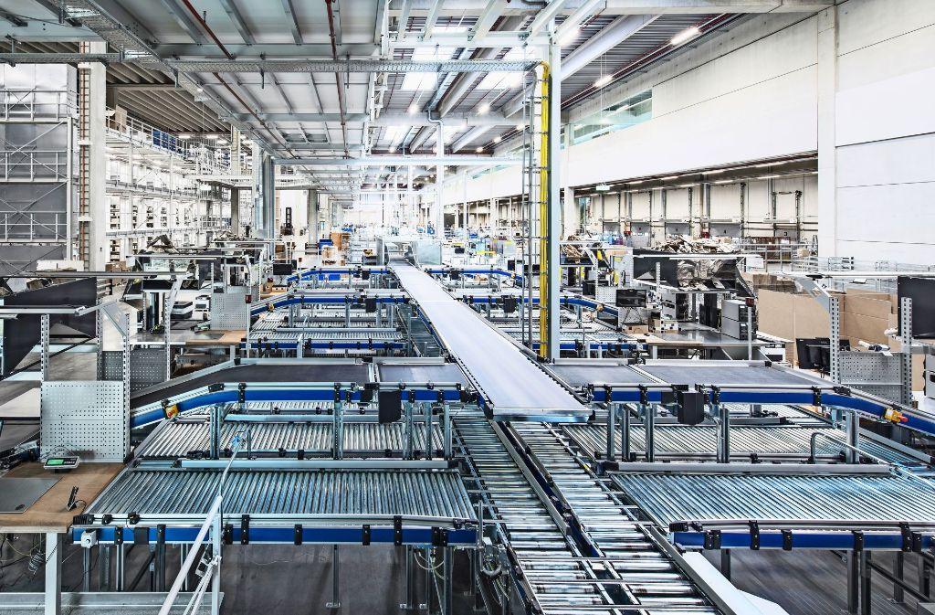 Firmenerweiterung In Ditzingen Trumpf Er Ffnet Sein