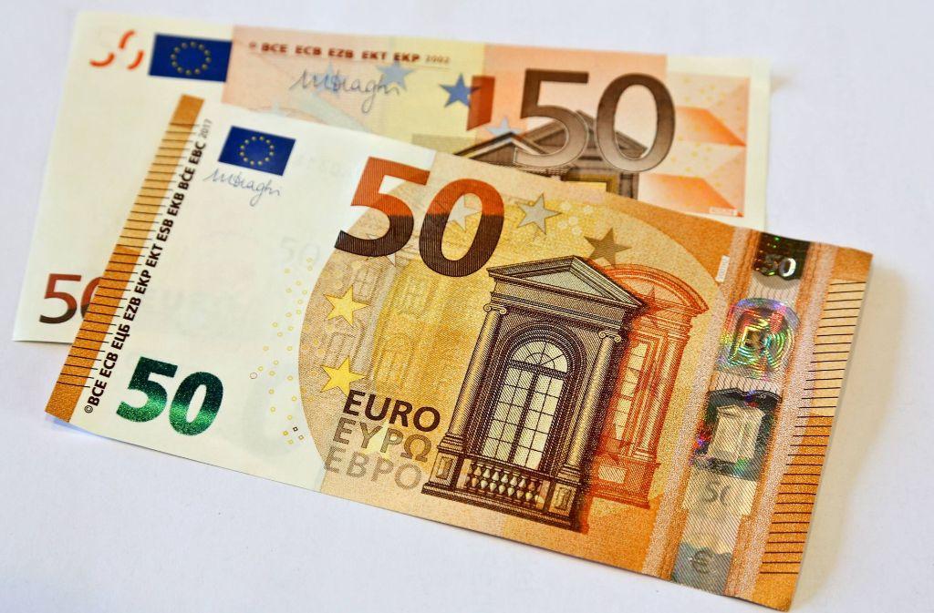 Kampf Gegen Geldfalscher Der Neue Funfziger Ist Da Wirtschaft