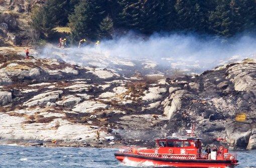 Bei Hubschrauberabsturz sterben 13 Insassen
