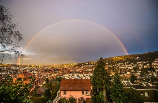 Heute besteht eine Chance auf den einen oder anderen Regenbogen. Foto: 7aktuell/Gerlach