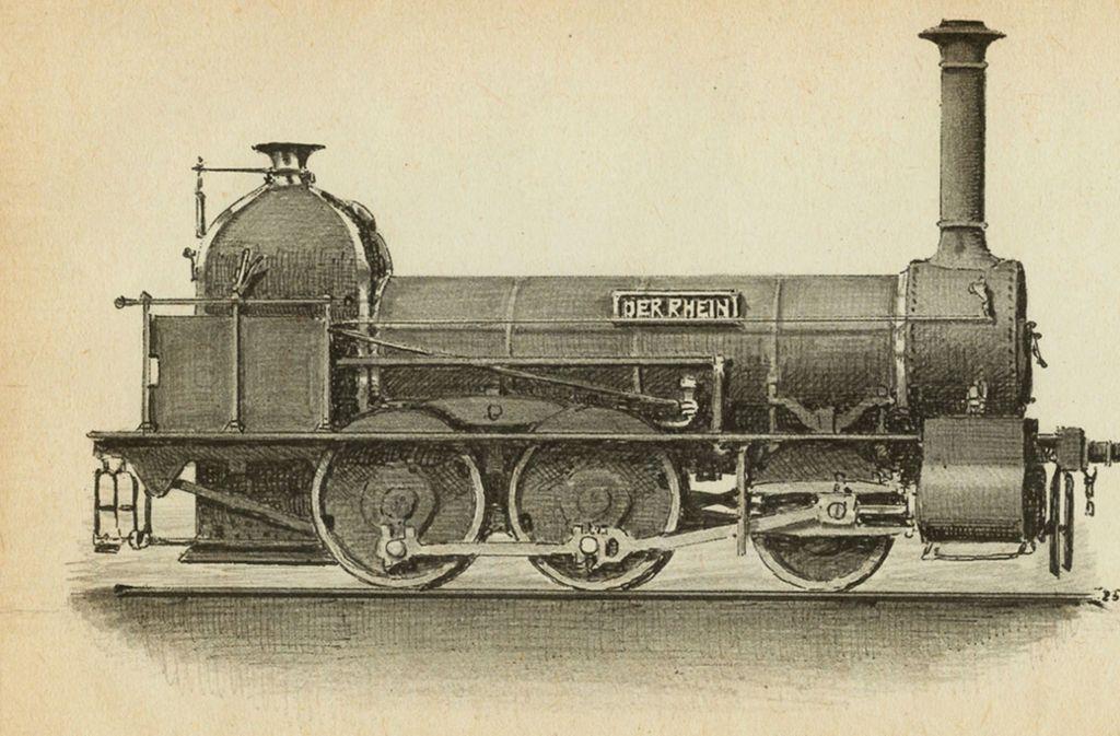 Lokomotive Rhein